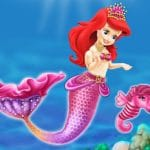 Baby Mermaid Princess Dress Up
