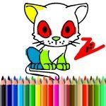 BTS Cat Coloring