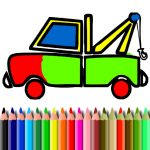 BTS Truck Coloring