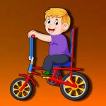 Cartoon Bike Jigsaw