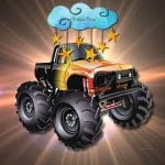 Cartoon Trucks Hidden Stars