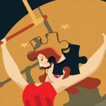 Circus Girl Jigsaw