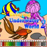 Coloring Underwater World 2