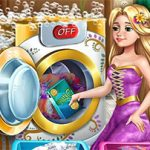 Jeu Goldie Princess Laundry Day