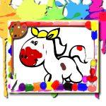 Jeu Livre de coloriage des chevaux