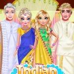 Indian couple wedding