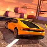 Lamborghini drift simulator