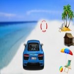 Mega Water Surface Car Racing Game 3D