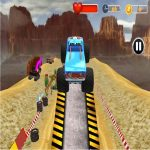 Monster Truck Tricky Stunt Race Game
