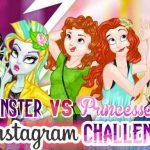 Monster Vs Princess Instagram Challenge