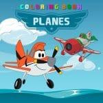 Planes Coloring Book