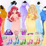 Pregnant Princesses Fashion Outfits
