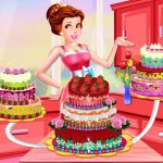 Jeu Princess Dede Sweet Cake Decor