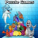 Puzzle Cartoon For Kids