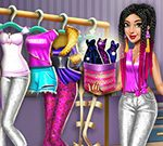 Jeu Tris Fashionista Dolly Dress up H5