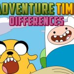 Jeu Adventure Time Differences