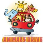 Jeu Animals Drive Jigsaw