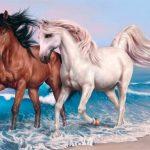 Jeu Animals Jigsaw Puzzle – Horses
