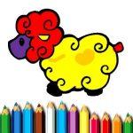 Jeu Baby Sheep Coloring Book