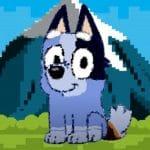 bluey dog pixal