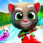 Cartoon Talking Tom Jigsaw Puzzle