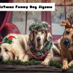 Jeu Christmas Funny Dog Jigsaw