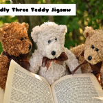 Cuddly Three Teddy Jigsaw