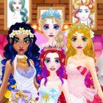Jeu Elsa – Wedding Hairdresser For Princesses