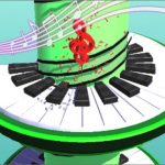 Jeu Helix Piano Tile