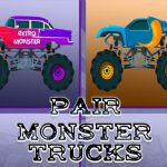 Monster Trucks Pair