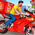 Jeu Moto Pizza Delivery