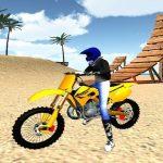 Jeu Motocross Beach Stunts Gas 3D