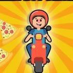 Pizza boy driving