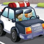 Police Cars Jigsaw Game