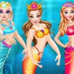 Princess Mermaid Style Dress Up