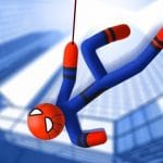 Stickman Swing Rope hero