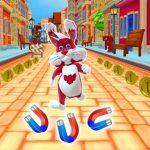 Jeu Subway Bunny Run Rush Rabbit Runner Game