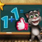 Talking Tom Math Test