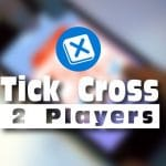 Jeu Tick Cross 2 Players