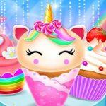 Jeu Unicorn Mermaid Cupcake Cooking Design