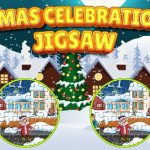 Jeu Xmas Celebration Jigsaw